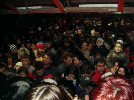 inghesuiala la metrou 1 decembrie
