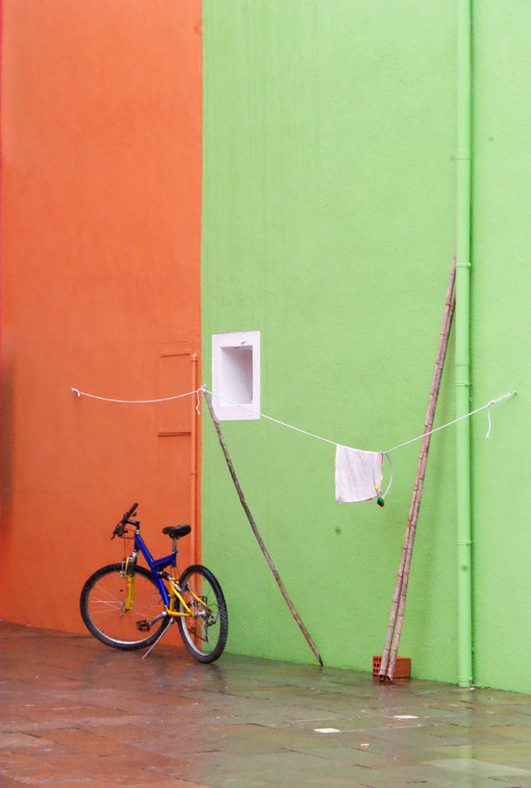 green corner bike - Burano