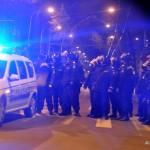 jandarmi calea victoriei (protest piata universitatii)