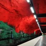 Solna Centrum - Stockholm Tunnelbana